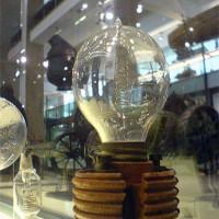 Gloeilamp in het Science Museum