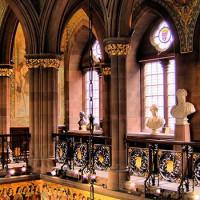 Interieur van de Scottish National Portrait Gallery