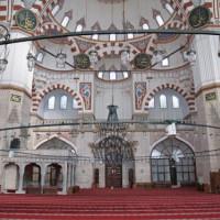 Gebedszaal van de Şehzade Moskee