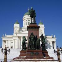 Standbeeld op het Senaatsplein