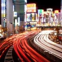 Straten van Shinjuku