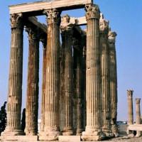 Restanten van de Tempel van de Olympische Zeus