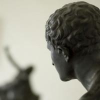 Kunstwerk in het Archeologisch Museum