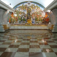 In de metro van Moskou