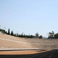 Piste van het Panathinaiko Stadion