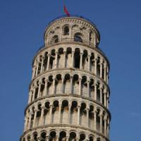 Top van de scheve toren
