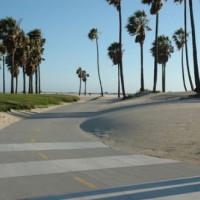 Stranden van Santa Monica