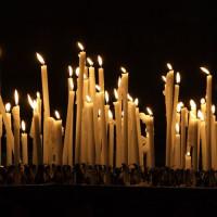 Kaarsen in de Parroquia de Sant Ramon