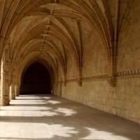 Galerij aan het Monasterio dos Jerónimos