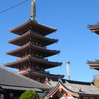 Pagode van de Senso-ji tempel