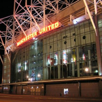's Avonds aan Old Trafford