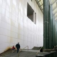 Bezoekers van het Los Angeles County Museum of Art
