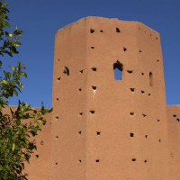 Deel van de Oude stadsmuren