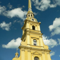 Toren van de Petrus en Pauluskathedraal