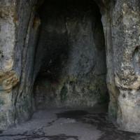 Binnen in de Sint Pietersberg-grotten