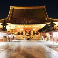 Op de Senso-ji tempel