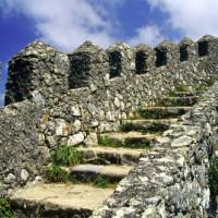 Kantelen van het Castelo De São Jorge