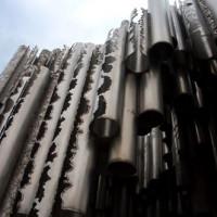 Detail van het Sibeliusmonument
