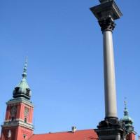 Zuil bij het Koninklijk Paleis