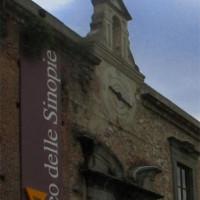 Buiten aan het Museo delle Sinopie