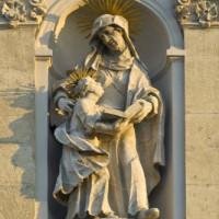 Detail van de Sint-Annakerk