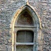Detail van de Sint-Baafsabdij