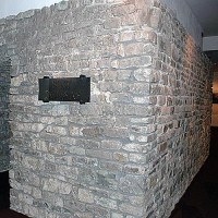 Muur van de Sint-Donaaskathedraal