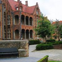 Stuk van het Sint-Janshospitaal/Memlingmuseum