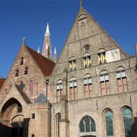 Gevel van het Sint-Janshospitaal/Memlingmuseum