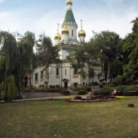 Overzicht op de Sint Nikolai-kerk