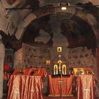 Altaar in de Sint Petka-kerk
