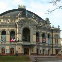 Gevel van het Sjevtsjenko Nationale Opera en Ballettheater