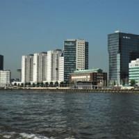 Flatgebouwen in Rotterdam