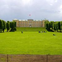 Vergezicht op het Slot Frederiksberg