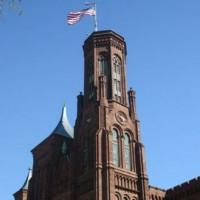 Beeld van het Smithsonian Castle