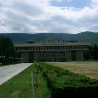 Grasveld voor het Nationaal Geschiedenismuseum