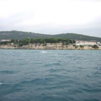 De zee bij Solta