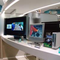 Binnen in het Sony Building