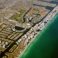 Luchtbeeld van South Beach