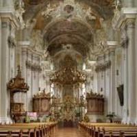 Plafondschildering Sint Paulinuskerk