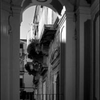 Binnen in het Palazzo della Spagnolo