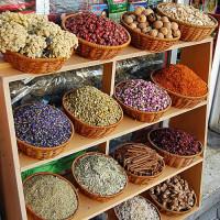 Specerijen in de Spice Souk