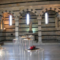 Binnen in de Santa Maria della Spina