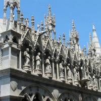 Detail van de Santa Maria della Spina