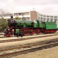 Stoomlocomoties in het Spoorwegmuseum