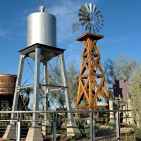 Watertoren in Springs Reserve