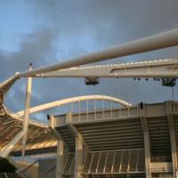 Constructie van het Spyridon Louis stadion