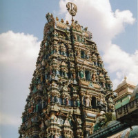 Toren van de Sri Mahamariammantempel
