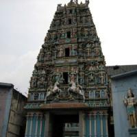 Voorkant van de Sri Mahamariammantempel