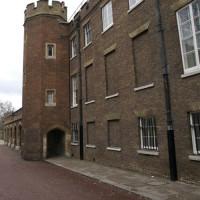 Zijkant van St. James's Palace